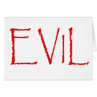 Evil Card