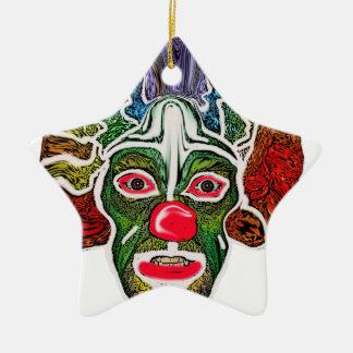 Evil Clown Collection (EC) Ceramic Ornament