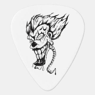 Evil clown guitar pic guitar pick
