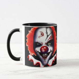 evil clown halloween scary horror mug