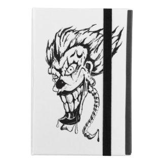 Evil clown iPad Case with No Kickstand