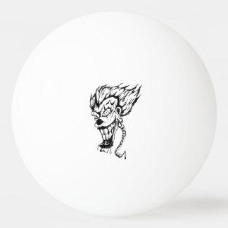 Evil clown Ping Pong Ball