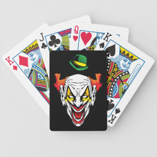 Evil Clown Poker Deck