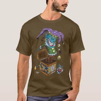 Evil Clown T Shirt - Jack in the Box II