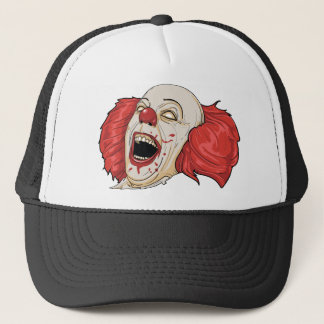 Evil Clown T Shirt Trucker Hat