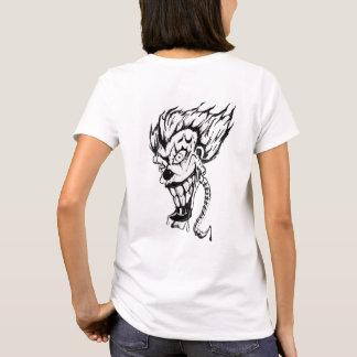 Evil clown Women's Basic T-Shirt