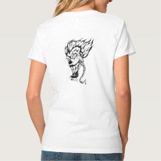 Evil clown Women's Hanes Nano V-Neck T-Shirt