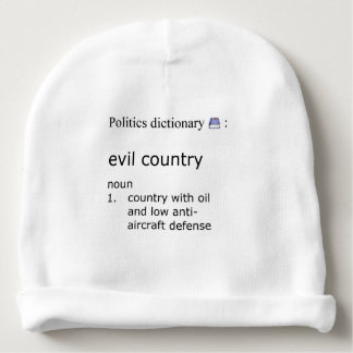 Evil country baby beanie
