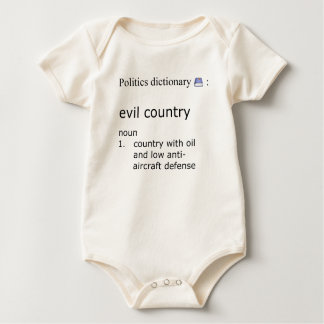 Evil country baby bodysuit