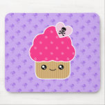 Evil Cute Cupcake Of Death Kawaii Mousepad
