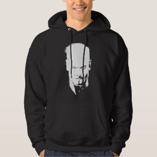 Evil Death Glare Black and White Hoodie