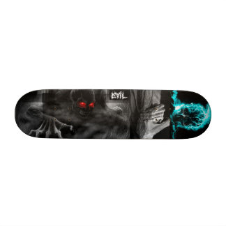 Evil deck mixed pictures skate board