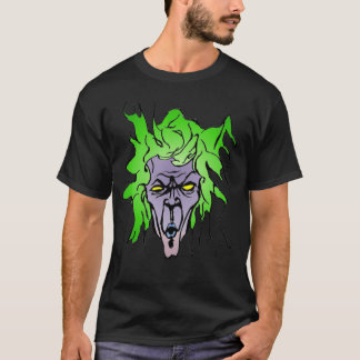 Evil Demented Scary Guy T-Shirt