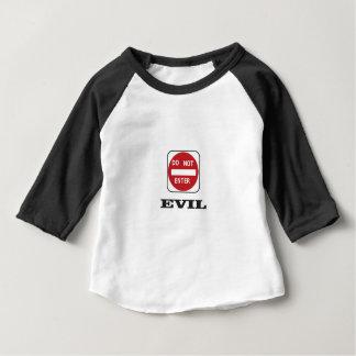 evil dne bad baby T-Shirt