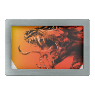 Evil dragon belt buckle