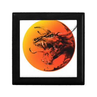 Evil dragon gift box