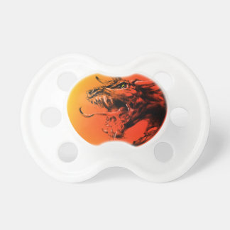 Evil dragon pacifier