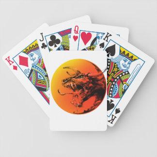 Evil dragon poker deck