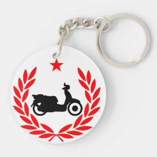 Evil Empire Scooter Club Double-Sided Round Acrylic Keychain