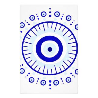 Evil Eye Burst Stationery