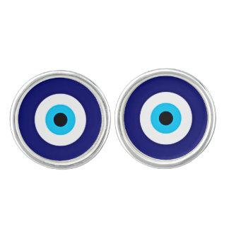 Evil Eye Charm Cufflinks