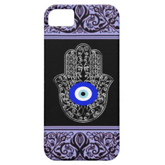evil eye hamsa  henna iPhone 5 case