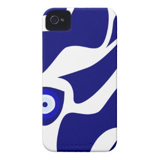 Evil Eye Lava Pattern iPhone 4 Case-Mate Cases
