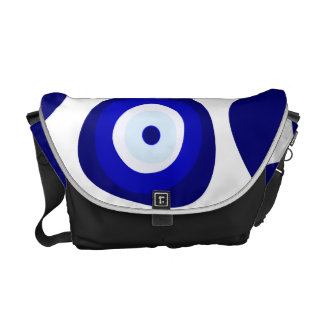 Evil Eye Lava Pattern Messenger Bag