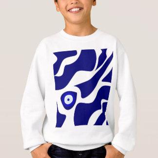 Evil Eye Lava Pattern Sweatshirt
