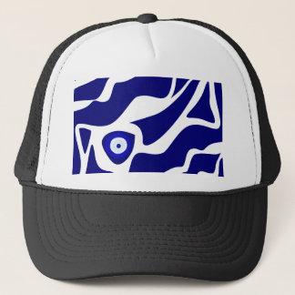 Evil Eye Lava Pattern Trucker Hat