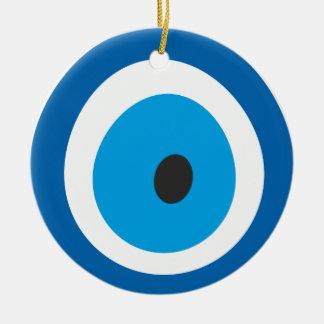 Evil Eye, Nazar, Charm, Luck, Protection, Spiritua Ceramic Ornament