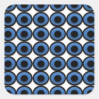 Evil Eye Ojo Protection Square Sticker