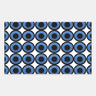 Evil Eye Ojo Protection Rectangular Sticker