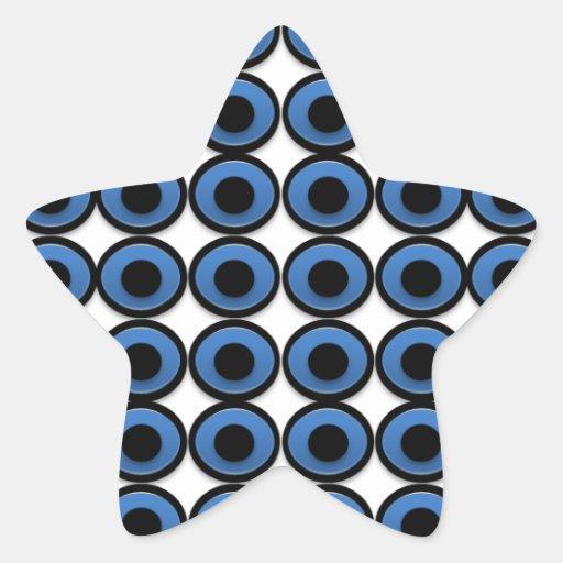 Evil Eye Ojo Protection Star Sticker