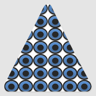 Evil Eye Ojo Protection Triangle Sticker