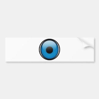 Evil Eye Protection Greek Ojo Bumper Sticker