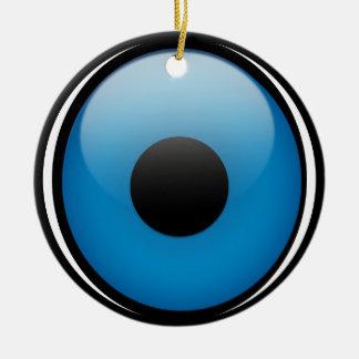 Evil Eye Protection Greek Ojo Ceramic Ornament