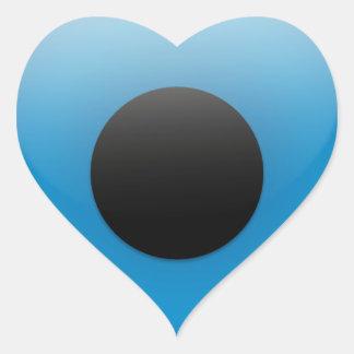 Evil Eye Protection Greek Ojo Heart Sticker
