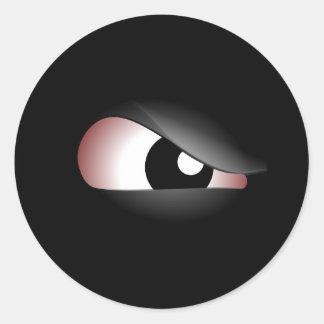 Evil Eye Round Sticker