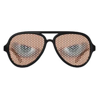 Evil Eyes Aviator Sunglasses