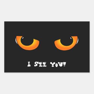 Evil eyes sticker
