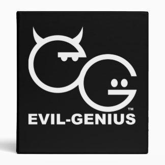 Evil-Genius Binder Black