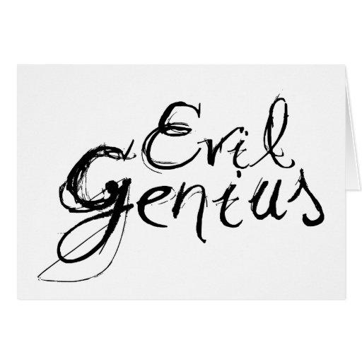 Evil Genius Cards