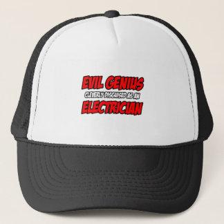 Evil Genius...Electrician Trucker Hat
