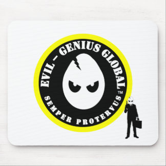 Evil-Genius Global Agent Pad Mouse Pads