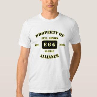 Evil-Genius Global Athletics Shirt