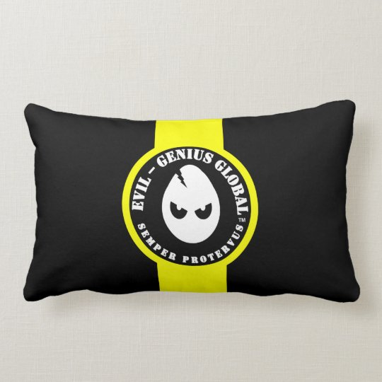 Evil-Genius Global Banded Lumbar Pillow