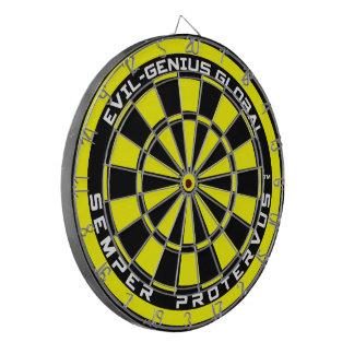 Evil-Genius Global Dartboard