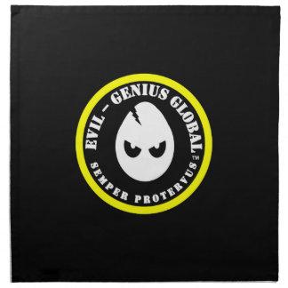 Evil-Genius Global Napkins