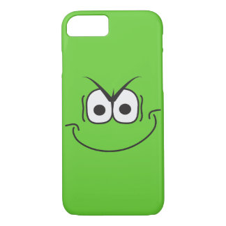Evil Genius Grin Cartoon Smiley Face iPhone 8/7 Case